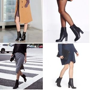 Sam Edelman Shoes - Sam Edelman Reyes Leather Booties (Size 8.5)